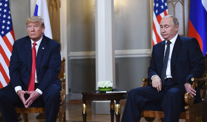 Donald Trump a Vladimír Putin (ilustrační foto)