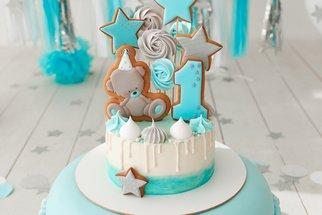 První dort jako z pohádky: 60 nejroztomilejších dětských dortů k prvním narozeninám