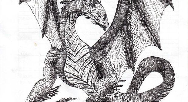 Baví vás kreslení? A co kresba draka?