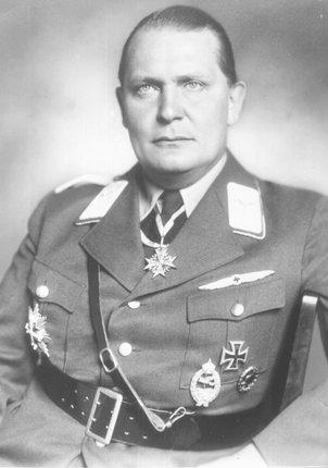 Zakladatel gestapa a jeden z nejvýše postavených mužů třetí říše Hermann Göring.