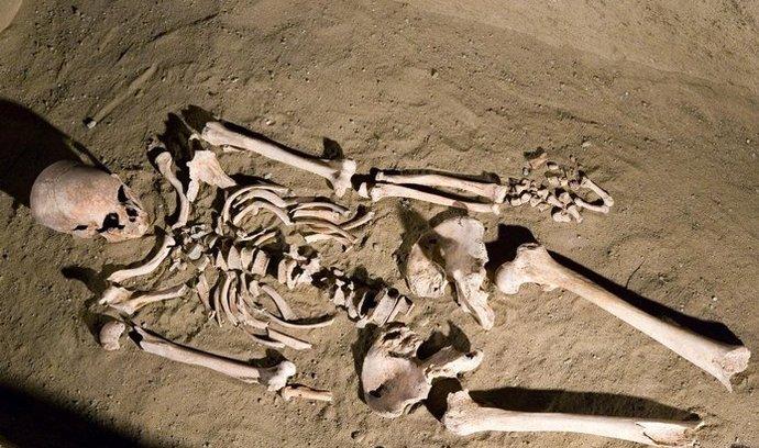 Dřívější nález z Mikulčic u Hodonína, ilustrační foto