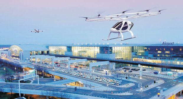 Volocopter: Létající taxík i záchranář bude mít první letiště