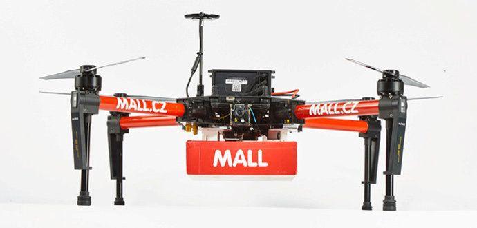 Dron jako doručovací služba budoucnosti?