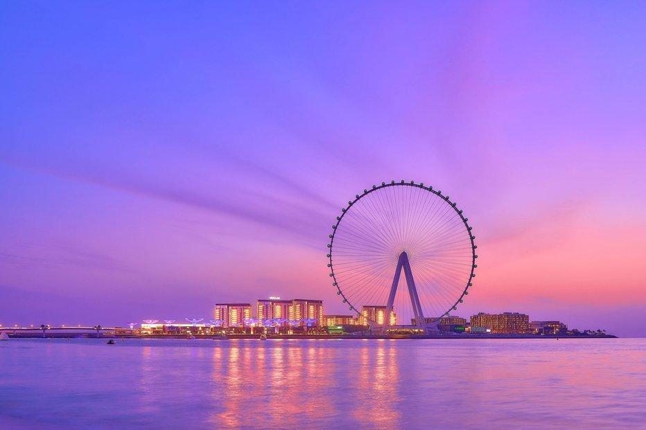 Dubaj se chystá otevřít novou turistickou atrakci. Ruské kolo Ain Dubai bude vysoké 250 metrů.