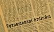 Stranický tisk psal o zahynuvších hornících jako o hrdinech