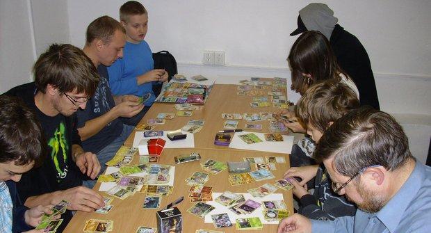 Dobrodružné podzemí: herna karetních a deskových her