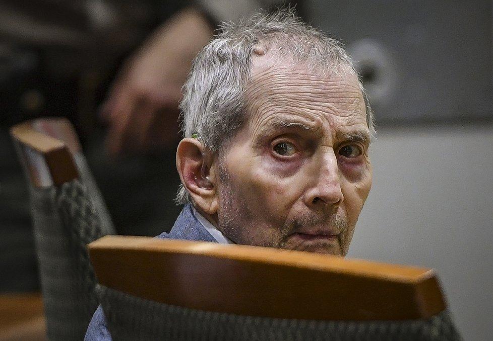 Realitní magnát Durst (78) byl 40 let na útěku, jde si sednout na doživotí.