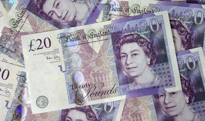 Dvacetilibrové bankovky