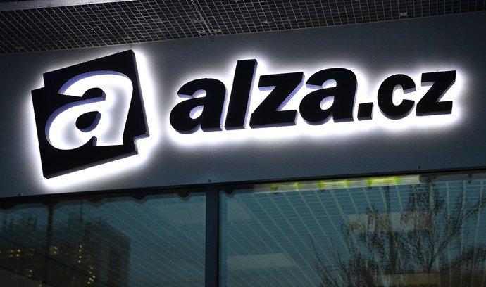 Logo Alza.cz, ilustrační foto