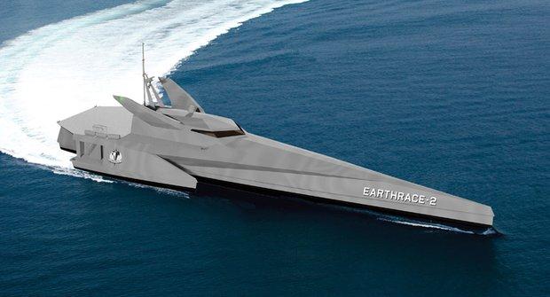 Earthrace 2: Batmanova loď postrachem pytláků