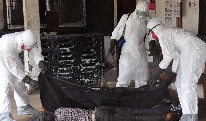 Ebola ilustrační foto