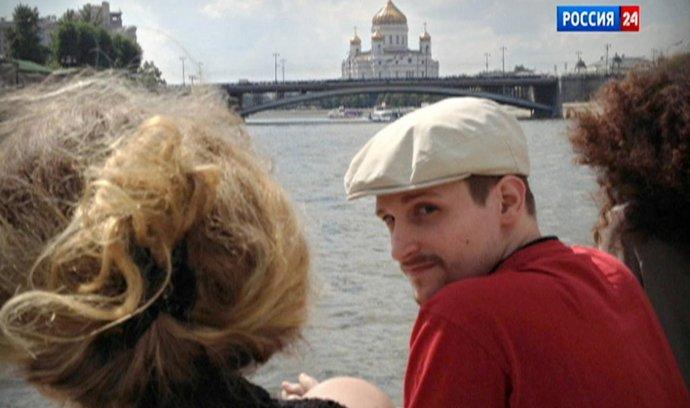 Edward Snowden v Moskvě