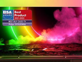 EISA: nejlepší televizory, projektor a multimediální přehrávač pro rok 2021/2022