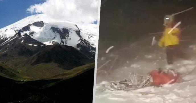 Velká tragédie na Elbrusu! Změna počasí si vyžádala životy 5 horolezců, další mají těžká zranění
