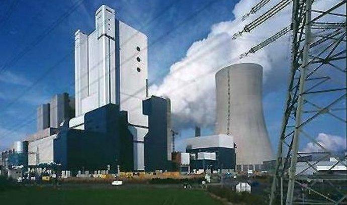 elektrárny, energetika