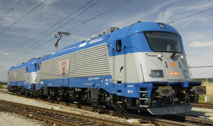 elektrická lokomotiva Škoda 109 E