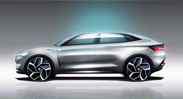 Vision E: Škodovácký elektromobil
