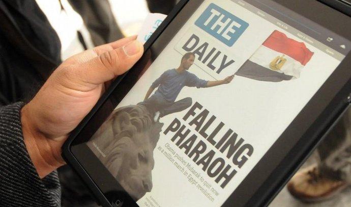 Elektronický deník The Daily určený výhradně pro iPad a iPhone na trhu neuspěl
