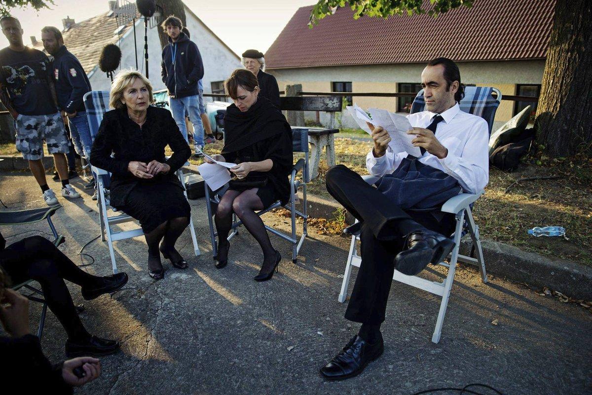 Eliška Balzerová s kolegy.