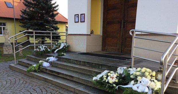 V tomto kostele se konal pohřeb malé Elišky.
