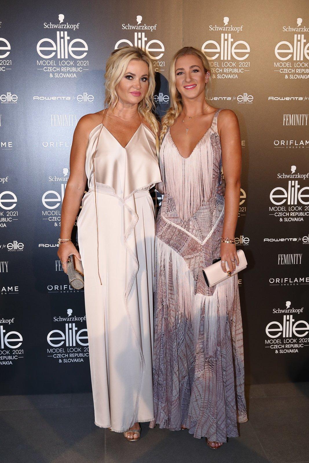 Elite Model Look - Monika Babišová s dcerou