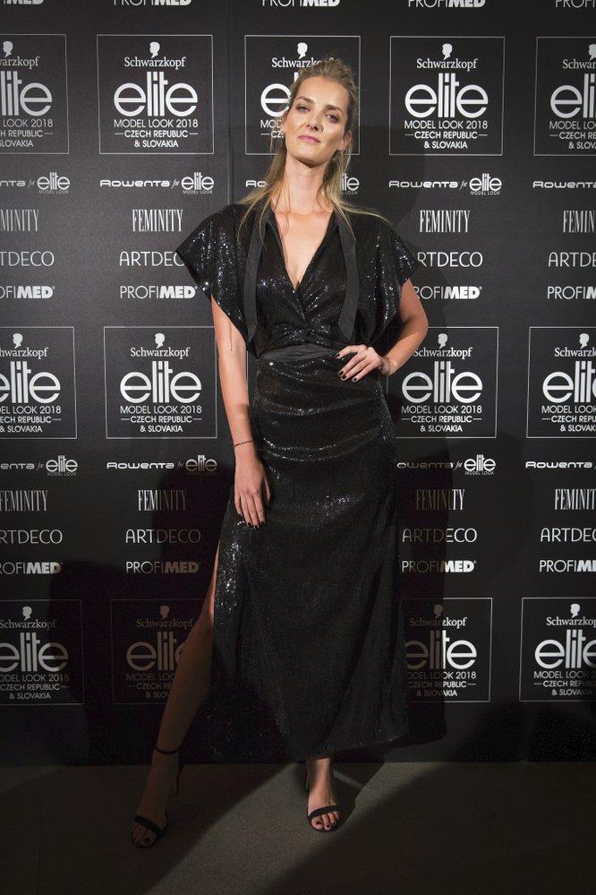 Denisa Dvořáková, vítězka světového finále Elite Model Look z roku 2006
