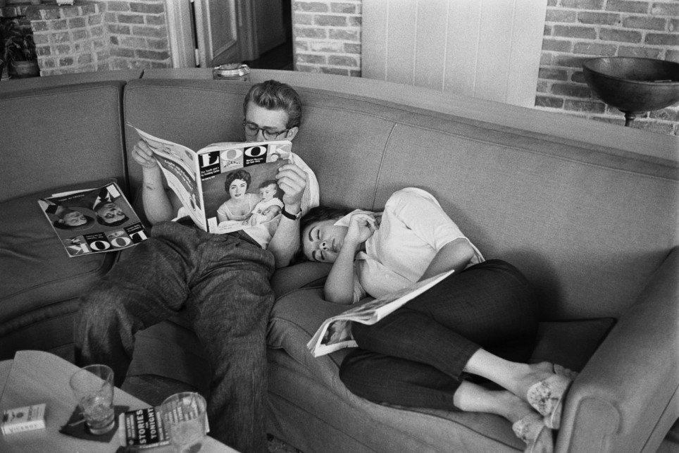 Relax s Jamesem Deanem
