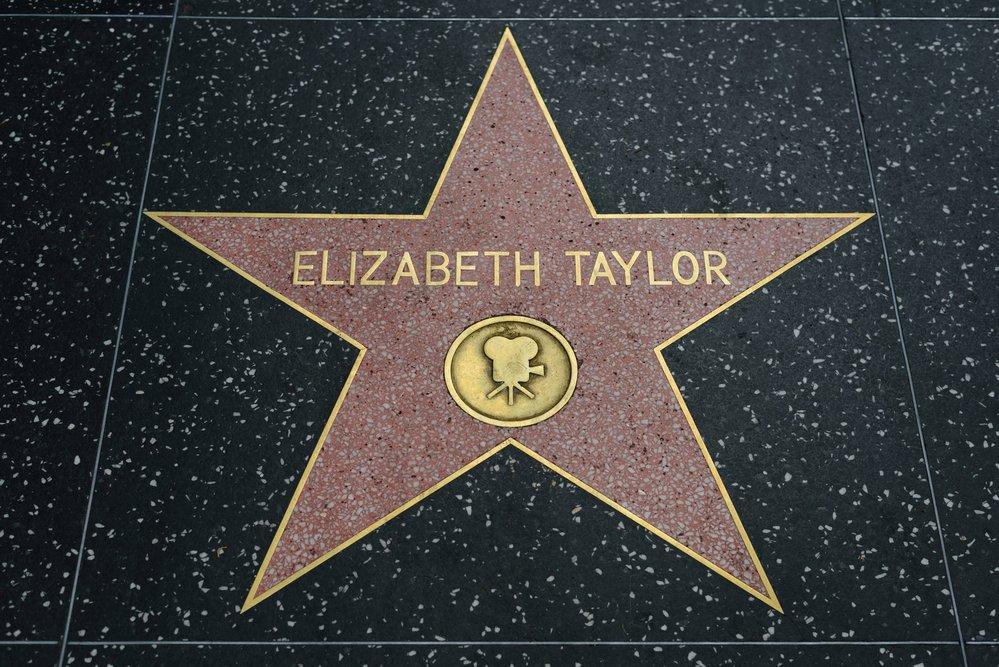 Kdo jiný by měl mít svou hvězdu na chodníku slávy než jedinečná Liz