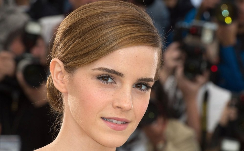 Herečka Emma Watson.