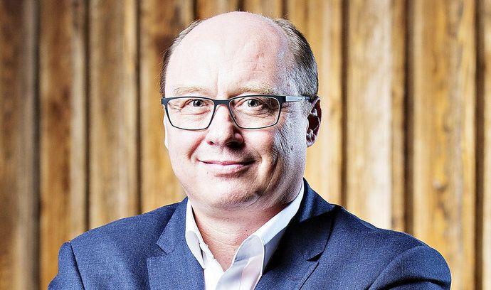 Pavel Elis, předseda představenstva a generální ředitel Pražské energetiky.
