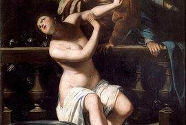 Tajemství baroka: Znásilněná malířka prošla děsivým mučením. Do konce života pak malovala tento motiv