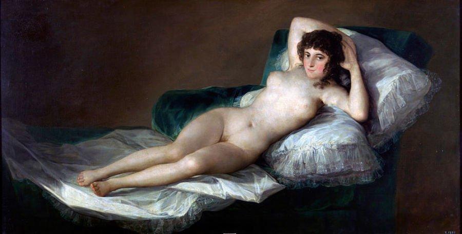 Nahá Maja, Francisco de Goya, 1800