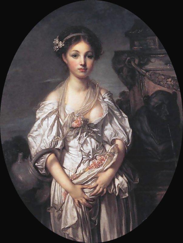 Rozbitý džbán, Jean Baptiste Greuze, 1780