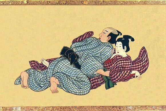 Spring Pastimes, Miyagawa Isshō, 1700