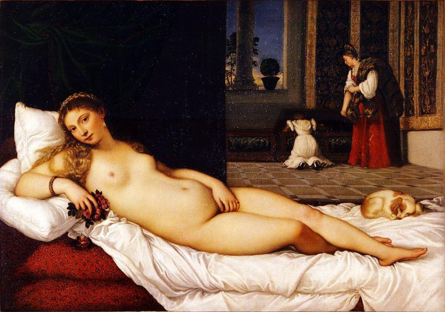 Venus of Urbino, Tizian