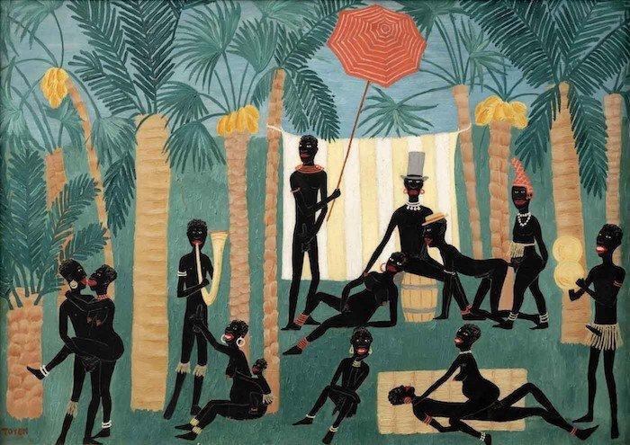 Ráj černochů, Toyen, 1925