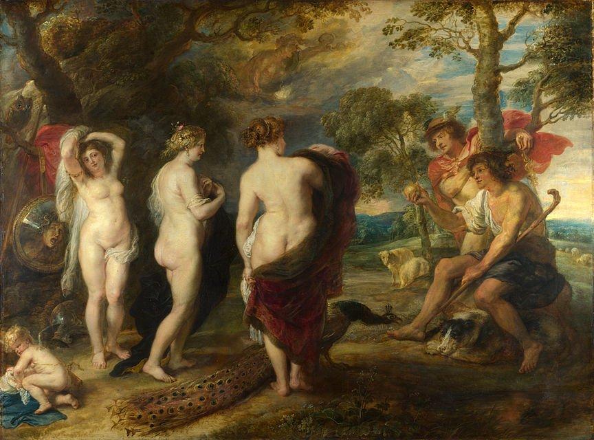Paridův soud, Peter Paul Rubens, 1639