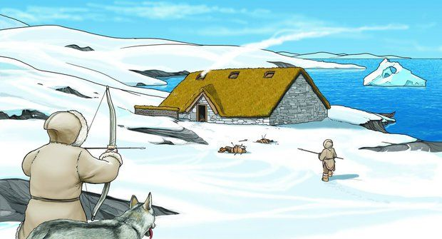 Tvrdí Eskymáci: Dobytí Aljašky a Grónska