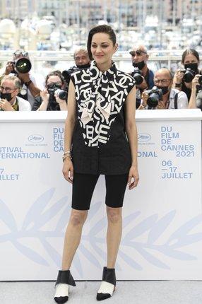Marion Cottilardová v Cannes