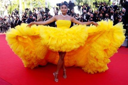 Farhana Bodiová na festivalu v Cannes