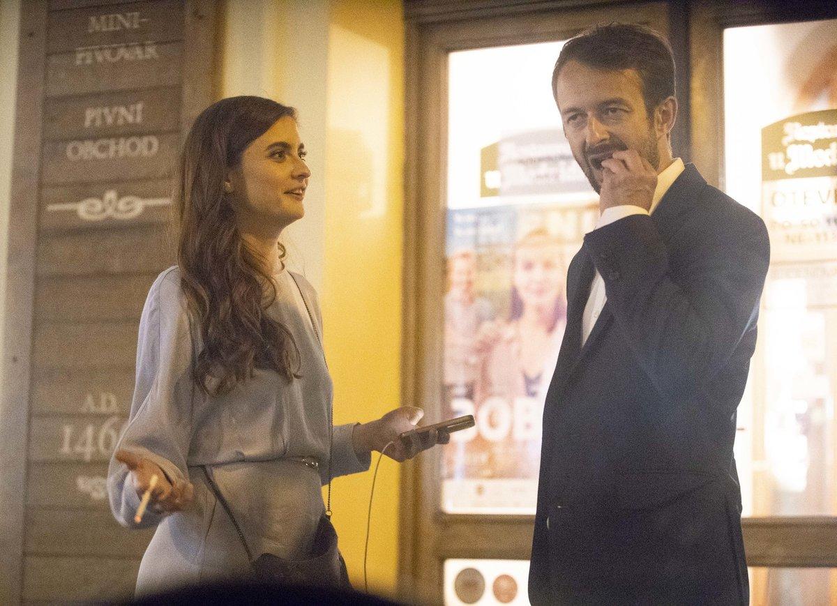 Eva se svým partnerem Matějem Podzimkem.