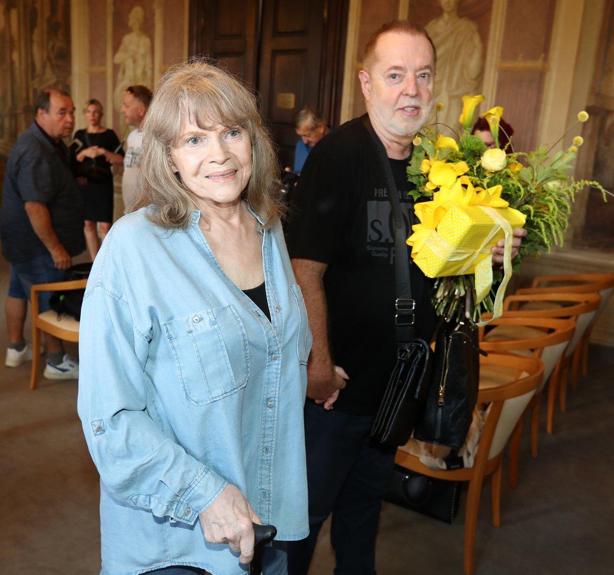 Eva Pilarová a Jan Kolomazník