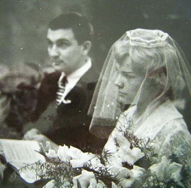 Eva Pilarová a její první manžel Milan Pilar