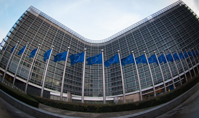 Sídlo Evropské komise, nadnárodního orgánu Evropské unie nezávislého na členských státech a hájícího zájmy Unie.