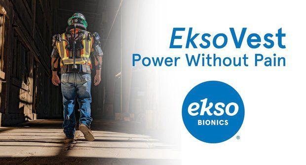 Exoskelety EksoVest: Ve službách Fordu