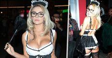 Exmanželka hvězdy (51) Zelené míle Courtney (27): Na Halloween jako sexy uklízečka!