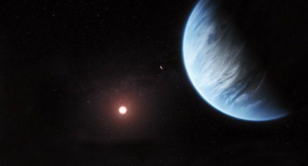 Druhá Země? Hubbleův vesmírný dalekohled našel vodu na cizí planetě