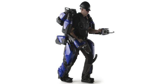 Oblek pro superhrdiny: Těžkotonážní exoskelet Guardian XO