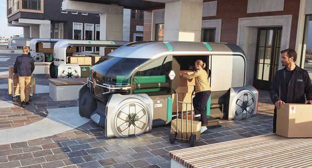 Kurýr budoucnosti: Renault EZ-PRO