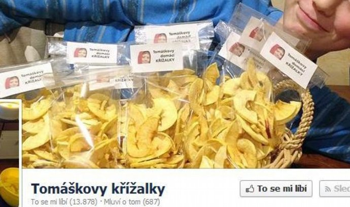 Facebooková stránka Tomáškovy křížalky